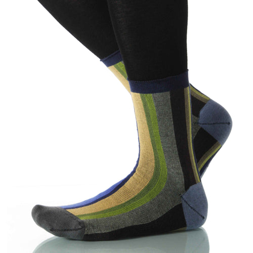 River Vertical Stripe - Ankle Height