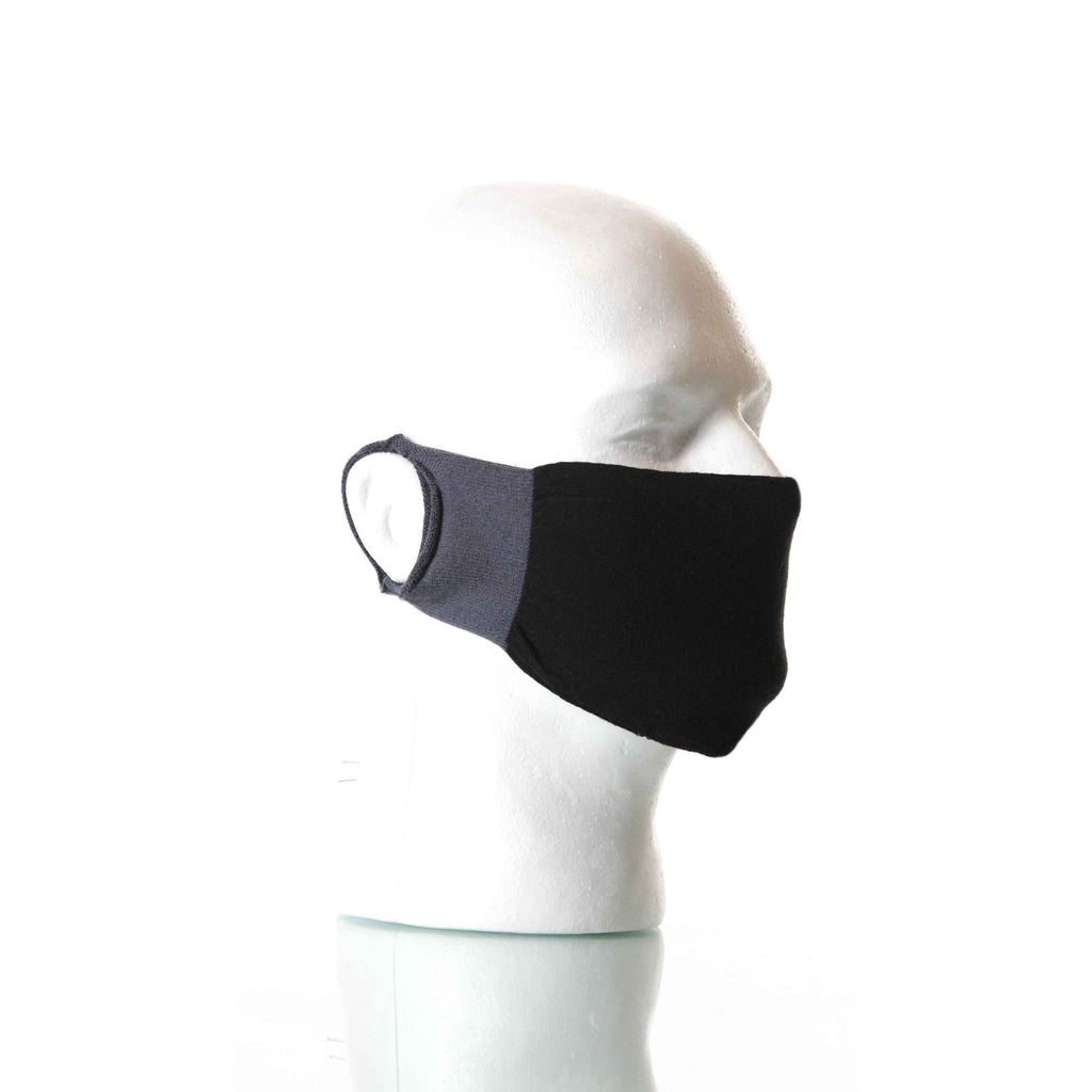 Black/Gray Solid Mask