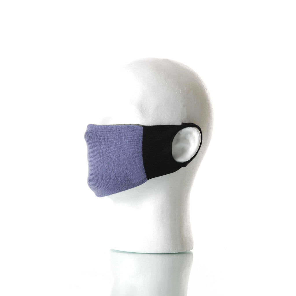 Violet/Gray Solid Mask