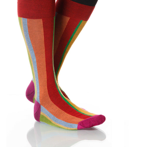 Rainbow Vertical Stripe