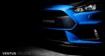 Ventus Veloce Carbon Fiber 2016 - 2018 Focus RS Upper Front Lip