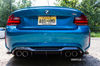 Ventus Veloce Carbon Fiber 2016 - 2020 BMW M2 Rear Lower Canards