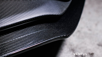 Ventus Veloce Carbon Fiber 2016 - 2018 Focus RS Lower Front Lip