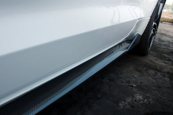 Ventus Veloce Carbon Fiber 2015-Present Ford Mustang Side Skirts