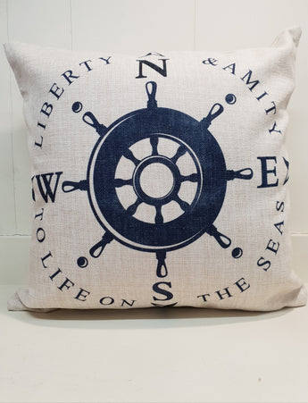 Captains Wheel Cushion