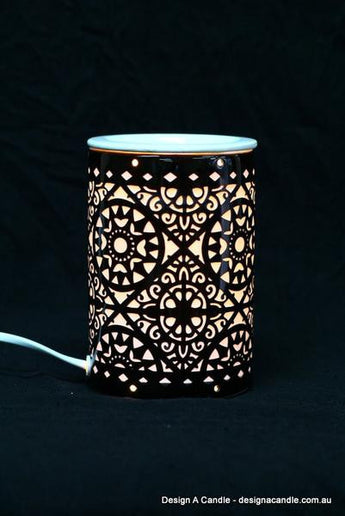 Electric Oil Burner- Black