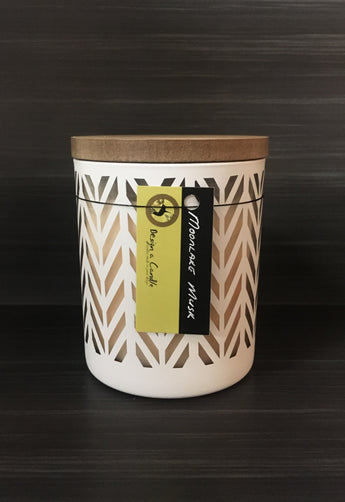 Soy Candle - White Parklane Jar Large (NEW!)
