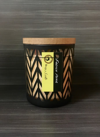 Soy Candle - Black Parklane Jar Large (NEW!)