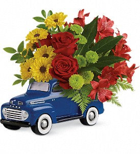 Glory Days Ford Pick Up Bouquet