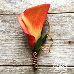 Orange Calla Bout