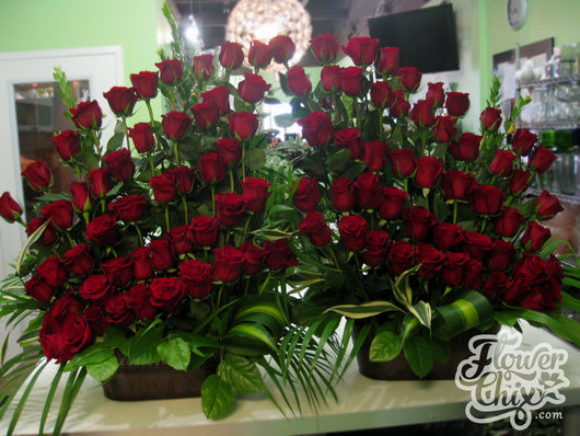 One Hundred Roses!