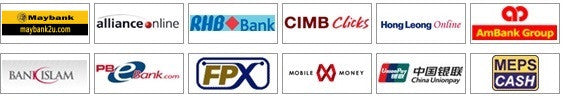 Supported Online Bank Transfer Methods