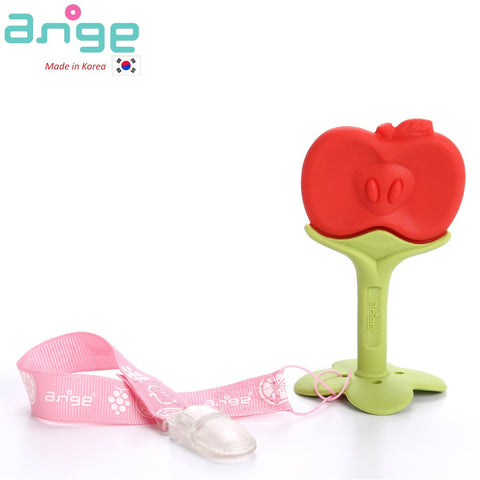 Fruit Teether with Clip (Apple)