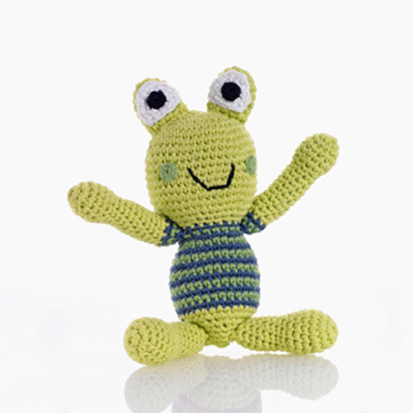 Pebble Rattle – Frog Boy