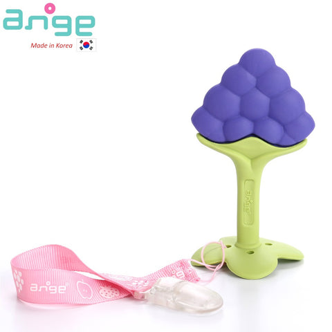 Fruit Teether with Clip (Grape)