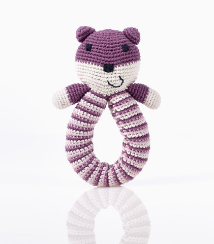 Pebble Organic – Bear Rattle Purple
