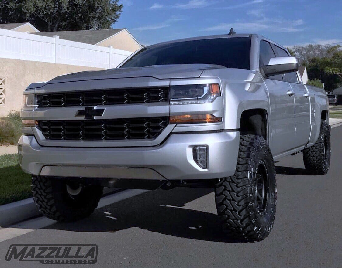 2016 2018 Chevy 1500 Skid Plate Mza C4 2 Mazzulla Offroad