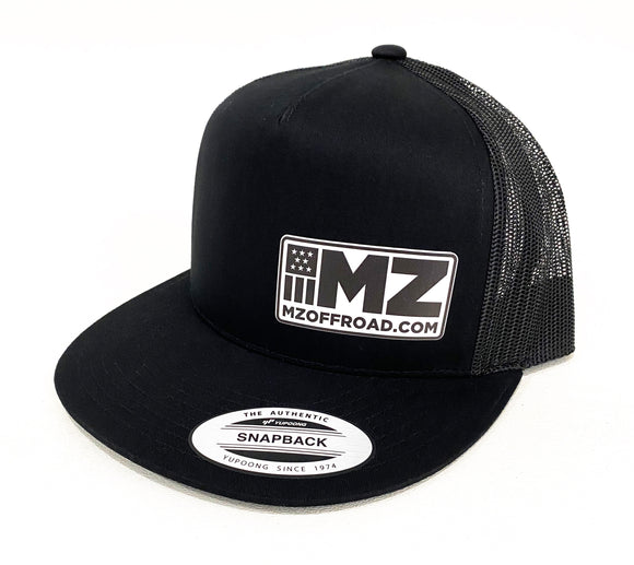 Snap Back Hat / MZH-2-BLACK