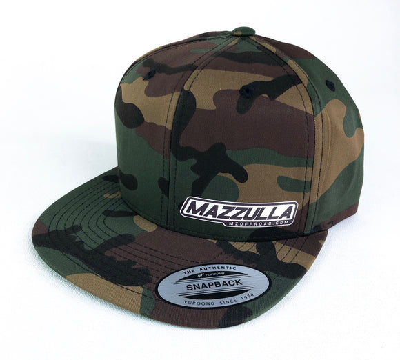 Snap Back Hat / MZH-1-CAMO