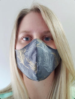 Face Mask Cotton Adult Reusable PPE Locally Made Assorted ea