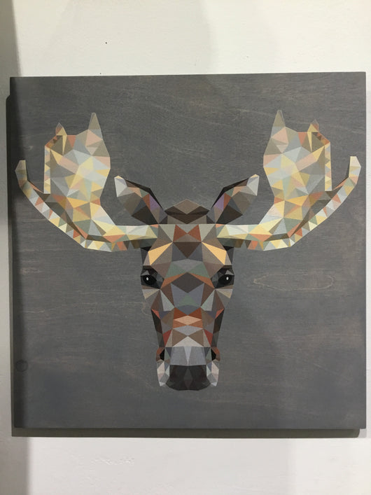 Geometric Animals Wall Art
