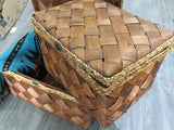 Basket / Chest Willow Rectangular (Each or Set of 3)