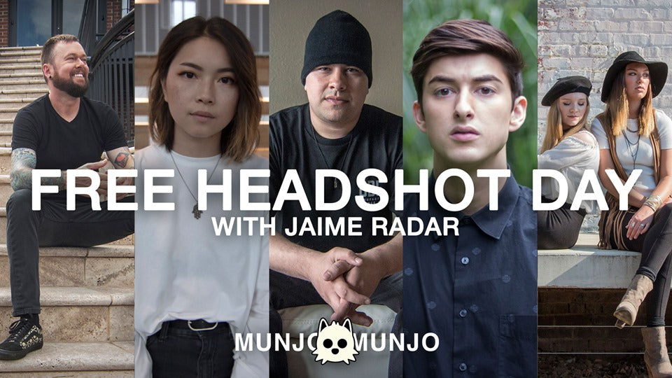 Free Headshot Day For Creatives