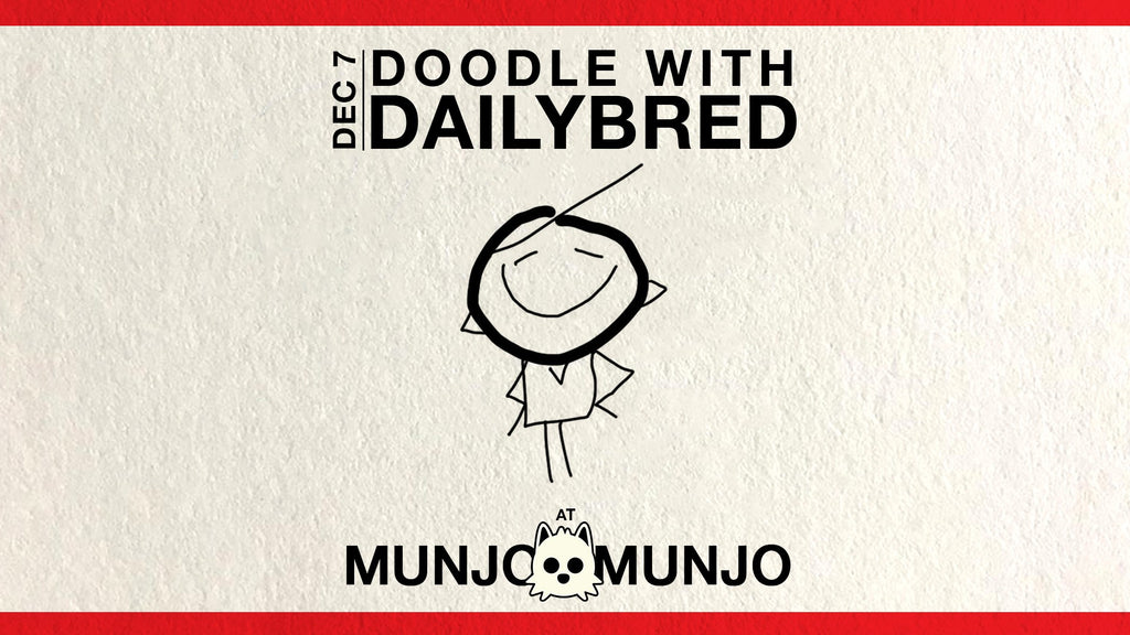 Doodle with dailyBred at Munjo Munjo