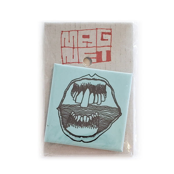 Square Toothy Magnet