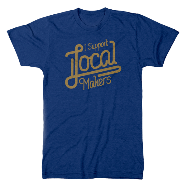 Local Makers Tee - Blue