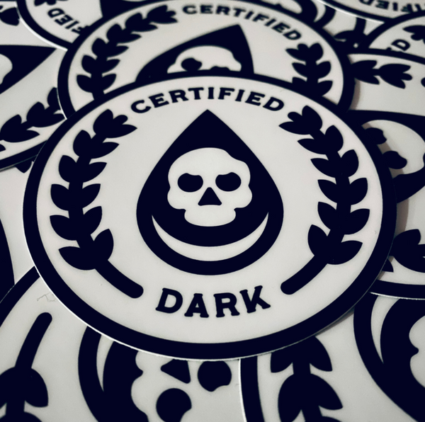 Certified Dark Sticker