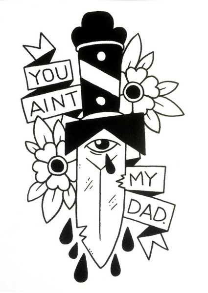 You Ain't My Dad Sticker