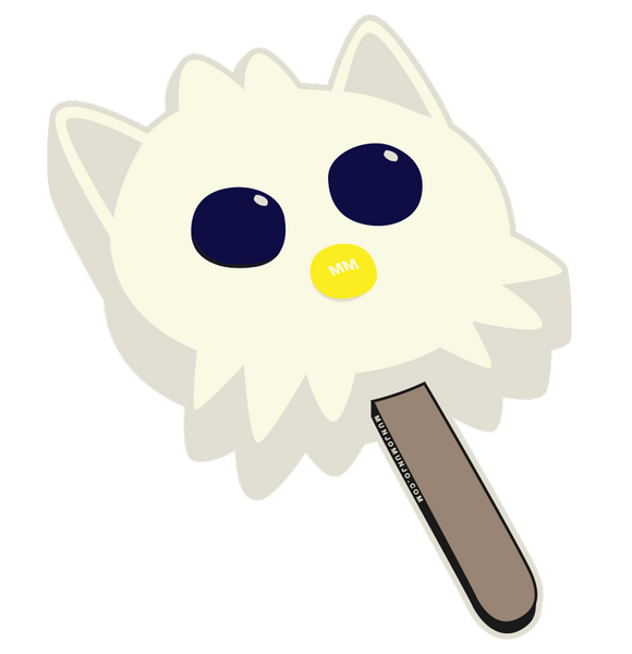 Retro Ice Cream Bar Sticker