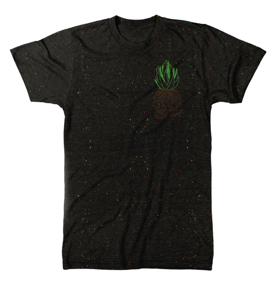 succulent speckled tee aloe plant green thumb roots