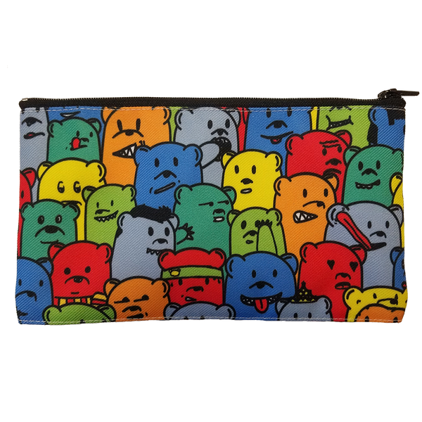 bears bear pencil case tampon art supply carrier pouch