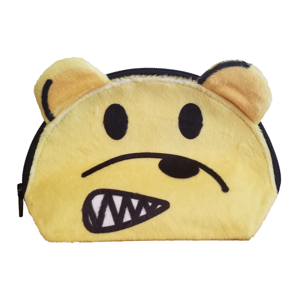 Nervous AmBear Zip Pouch - Yellow