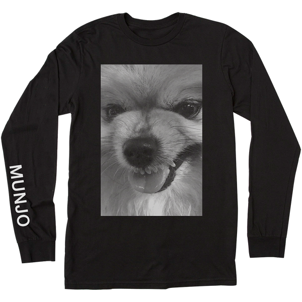 pomeranian shirt pom lover munjo wild dog crewneck long sleeve