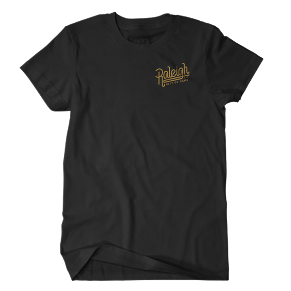 City of Oaks Tee (Black)