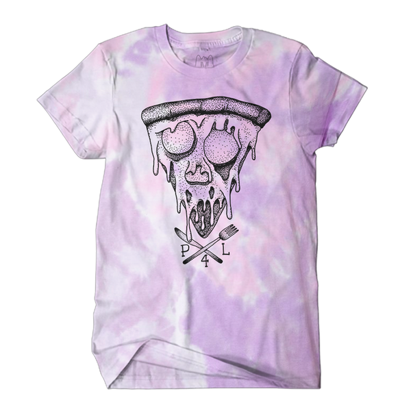 Pizza-4-Life Tee (Cotton Candy)