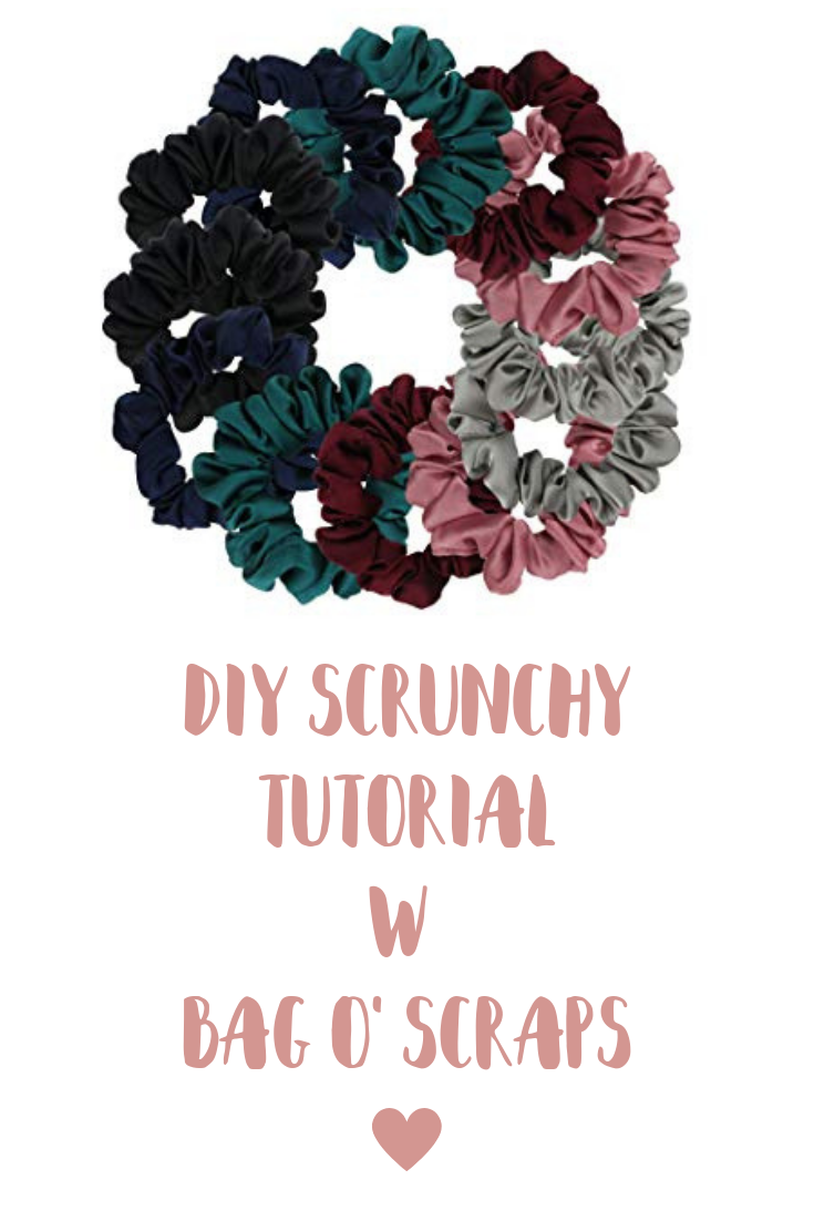 DIY Scrunchy Tutorial
