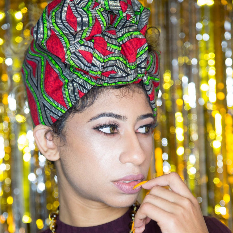 All That Glitters Headwrap - shopdraped