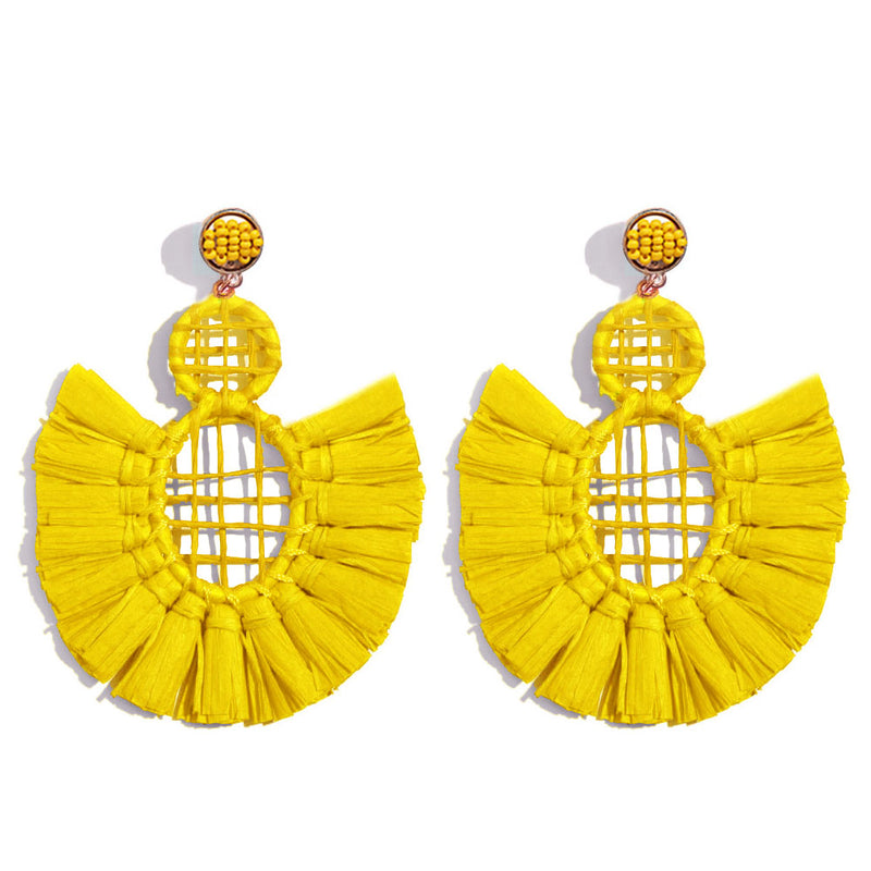The Yellow Ray Earrings