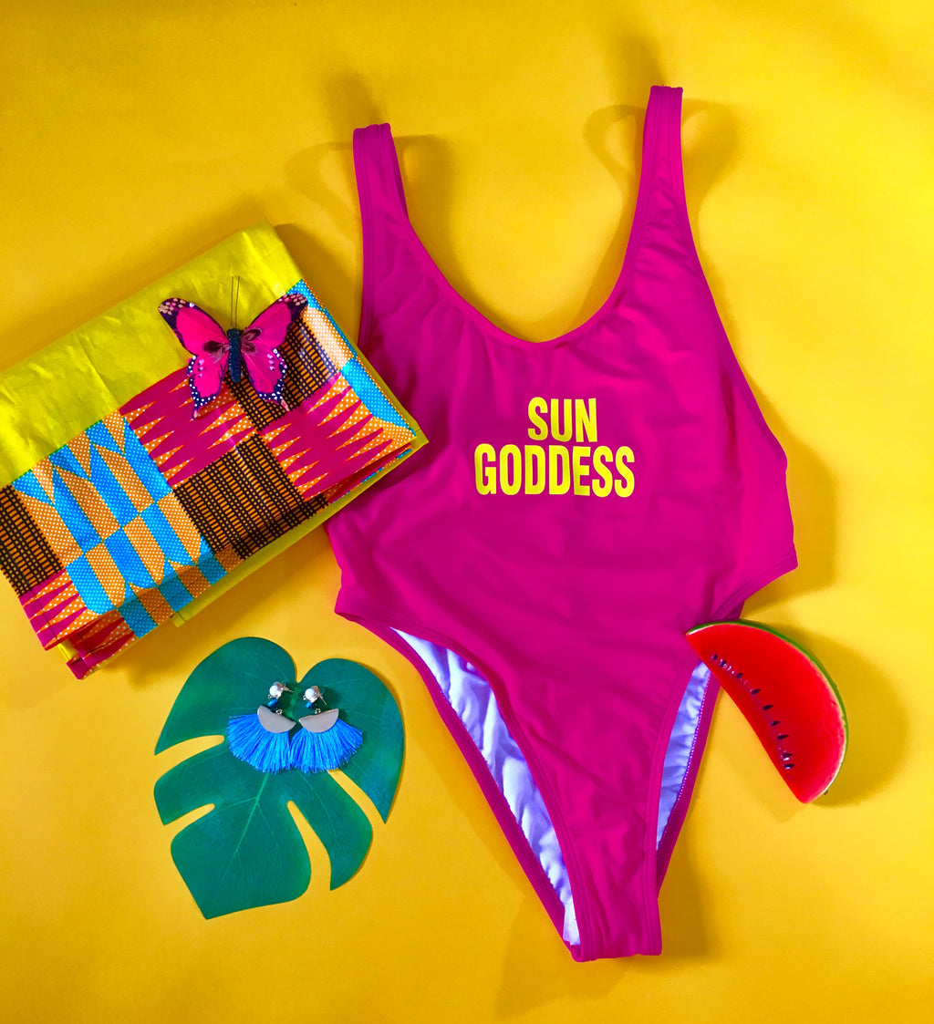 Sun Goddess Bathing Suit