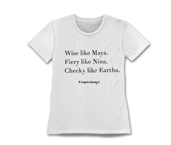 Wise Like Maya Tee - shopdraped