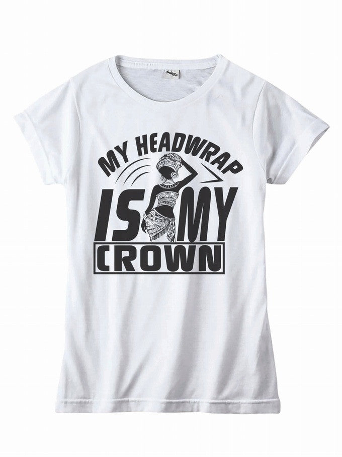 My Headwrap Is My Crown Tee - shopdraped