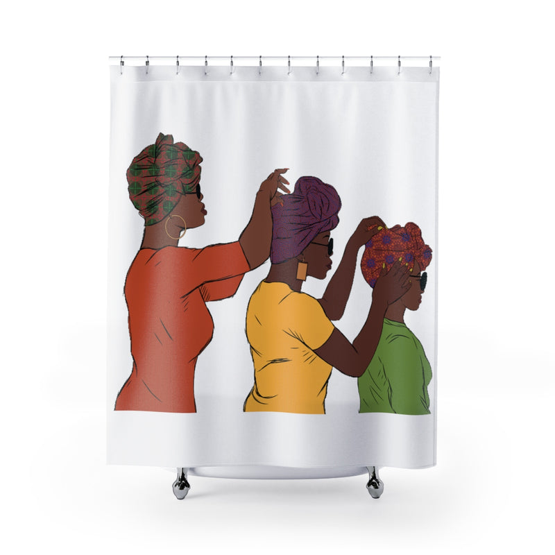 3 Sisters Shower Curtain - shopdraped