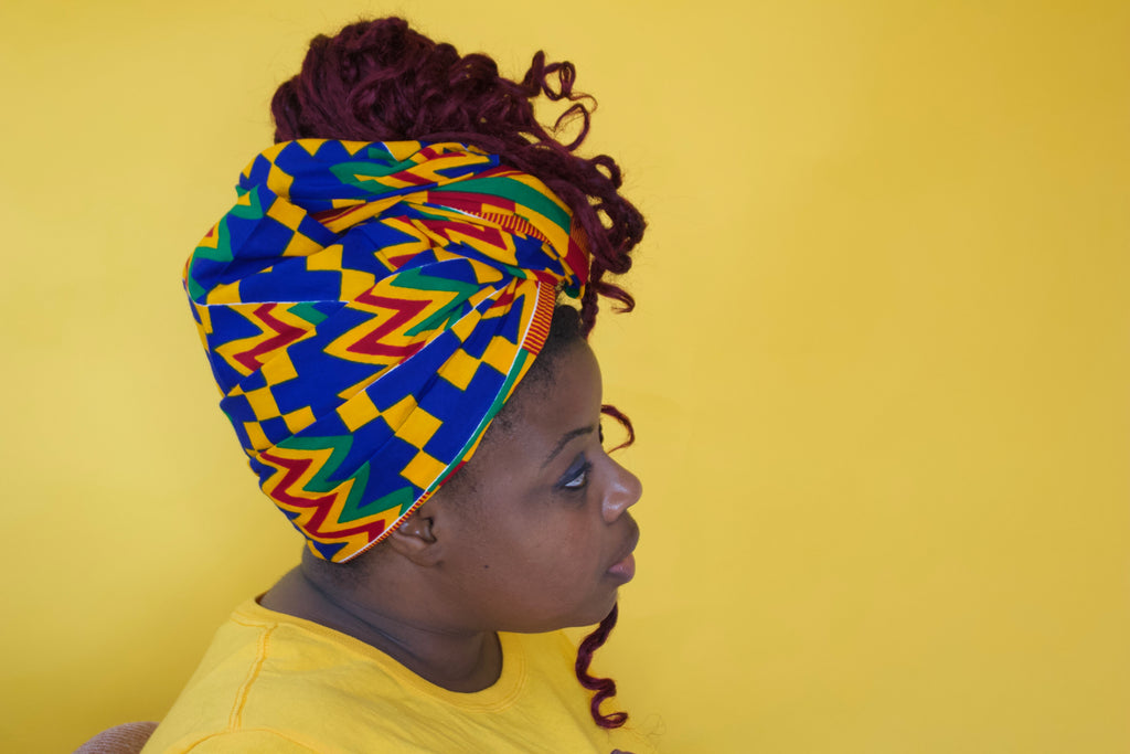 Majidah Kente Headwrap