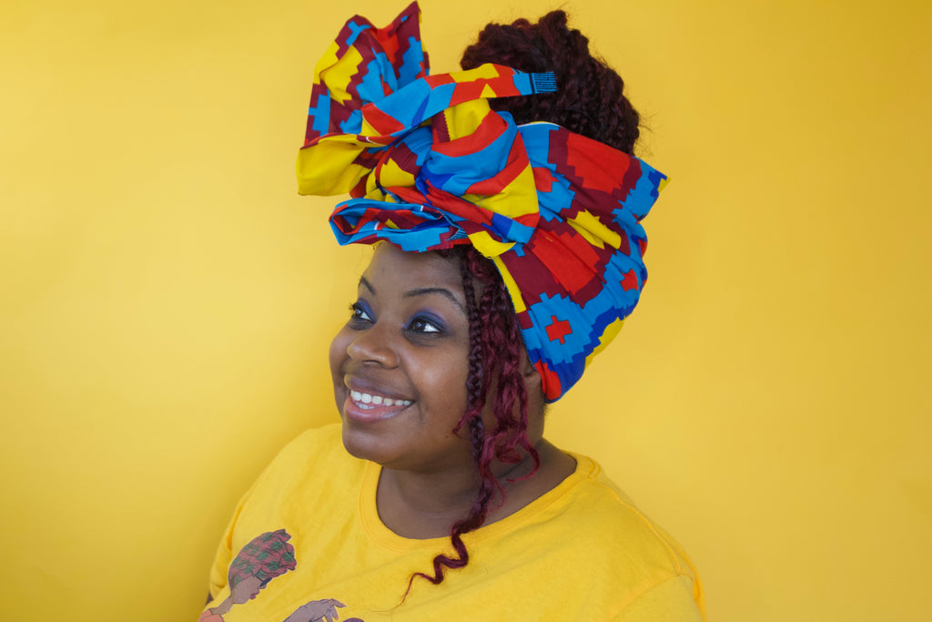 Julia Kente Headwrap