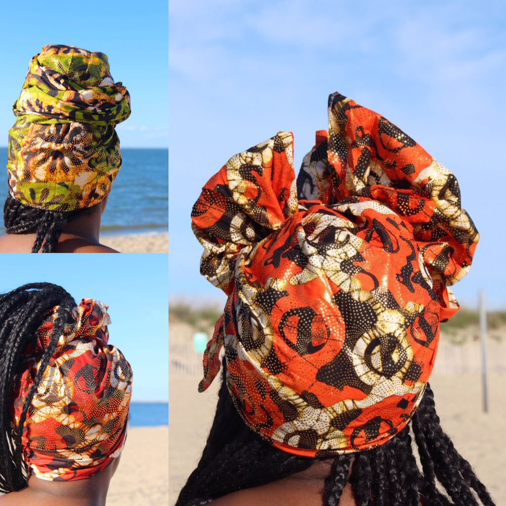 The Ibeji Headwrap