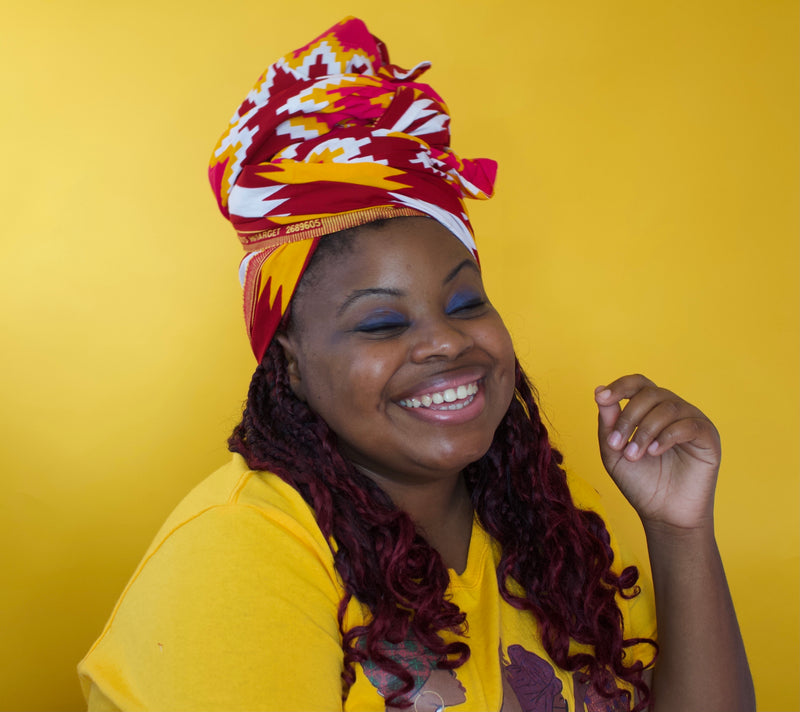 Hawa Kente Headwrap